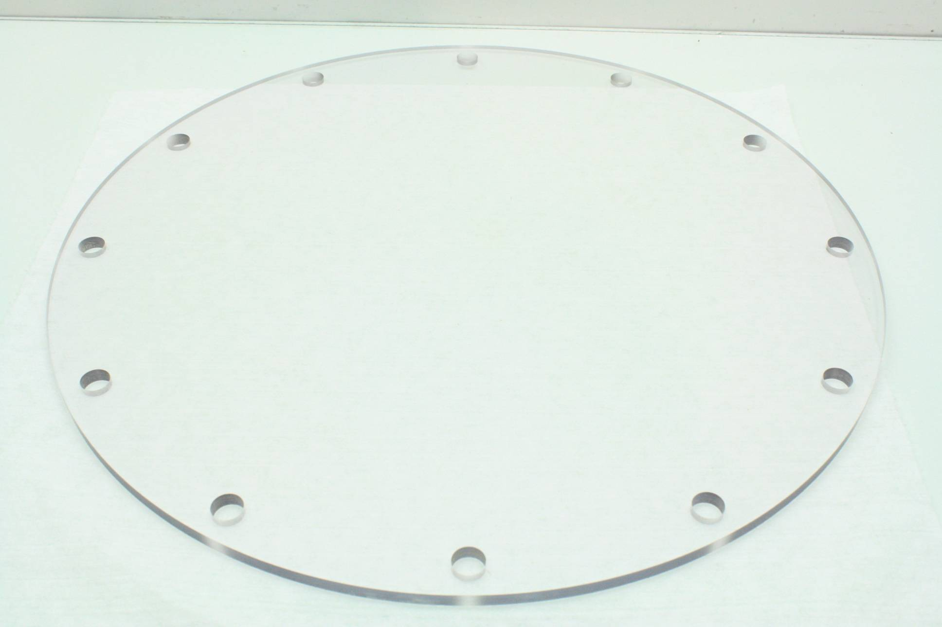 """ISO250 1//4/"""" Acrylic ISO-F 250 Vacuum Pump Flange Dust Cover DN 250mm"""