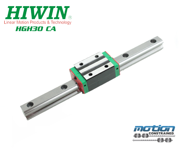 New Hiwin HGH25CAZAC Square Block Linear Guides HGH25 Series up to 4000mm Long
