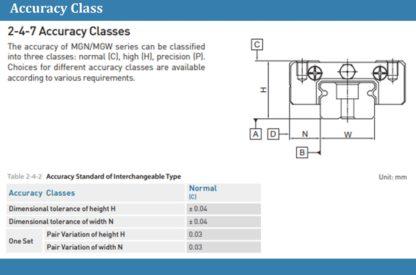 New Hiwin MGN12HZOC / Long Block / MGN12 Series / 12mm / 3D Printer