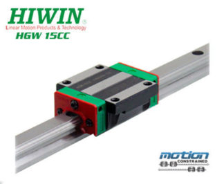 New Hiwin HGW15CCZAC Flange Block Linear Guides / HGW15 Series up to 4000mm Long