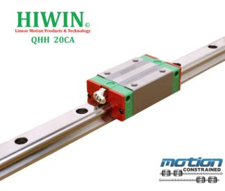 New Hiwin QHH20CAZOC Caged Ball Bearing / Square Block / Linear Guides QHH20 Series up to 4000mm Long