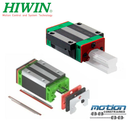 Hiwin HGW Block WIth Scraper Kit