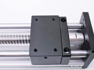motion constrained act-bb-80 linear ball screw actuator