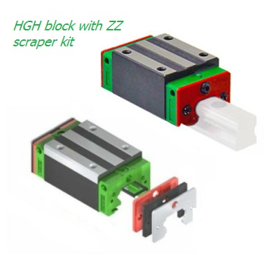 HGH block with ZZ scraper