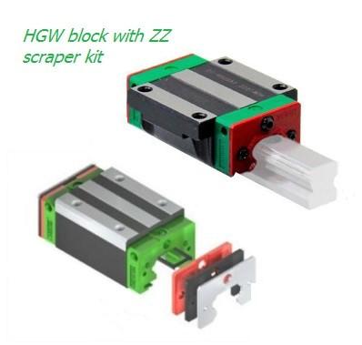 HGW block with ZZ scraper